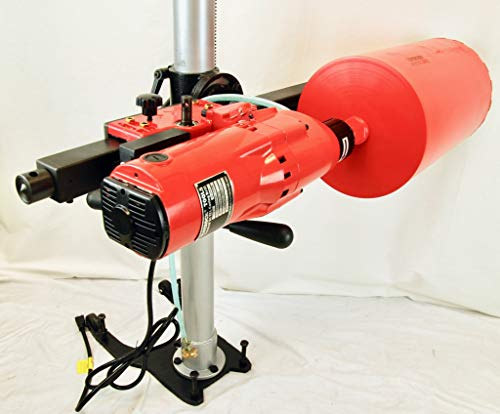 BLUEROCK 10″ Z1 TEL Telescoping Stand Concrete Core Drill Any Angle
