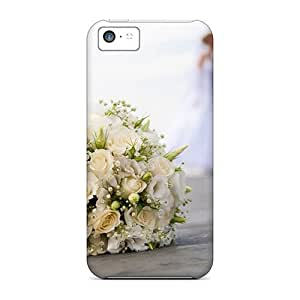 Awesome Case Cover/iphone 5c Defender Case Cover(love Brides Bouquet)