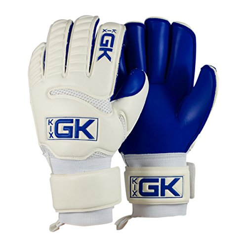 Kixsports KixGK Costa Goalkeeper Gloves (Sizes 5-12):High Level Match-Training Adult & Youth Soccer Goalie Gloves – Designed for Efficiency, Consolation, Safety – DiZiSports Store