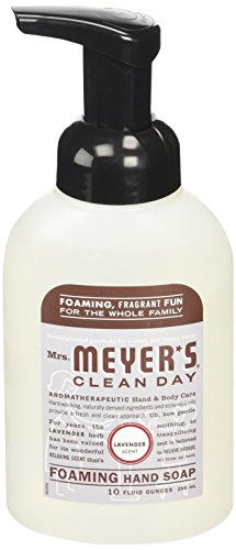 Mrs. Meyer's Clean Day Foaming Hand Soap, Lavender, 10 fl oz
