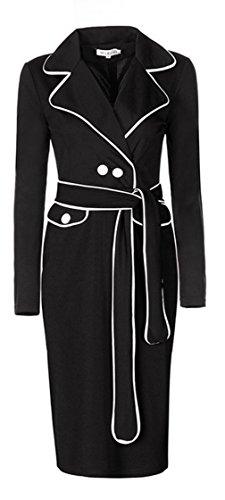 Buy belted coat dress - 7