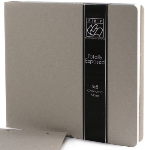 Bazzill Totally Exposed 3-Ring Binder Album, 8 by 8-Inch by Bazzill