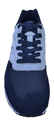 Blau Sythetik Sneakers Ralph Grau Lauren Turnschuhe Leder Polo Slaton X0Bw1Oxn