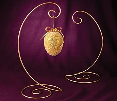Ornament Stand (Gold) Large Spiral Bottom