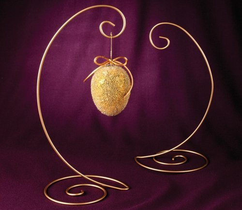 - Ornament Stand (Gold)  Large Spiral Bottom