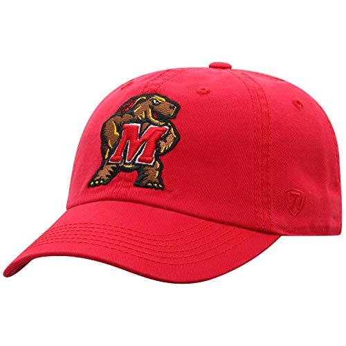 Maryland Terps Adult Adjustable Hat