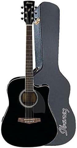 Ibanez pf15ecebk Dreadnought Guitarra Electroacústica guitarra en ...