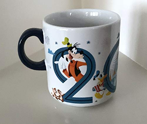Walt Disney World 2019 Mickey Mouse and Pals Character Ceramic Mug