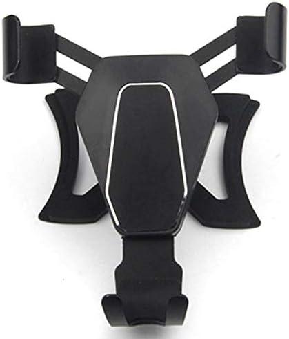 Semoic 2014年以降のA3 S3用 電話ホルダー重力車エアベントアウトレットマウント 360度回転携帯電話GPSブラケットホルダー、ブラック
