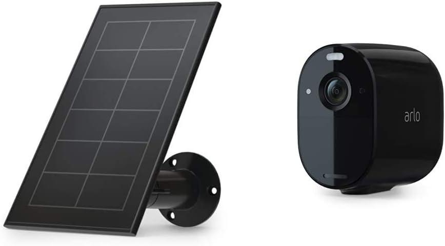 Panneau Solaire Pour Essential et Caméra Essential - Noir