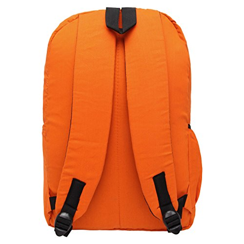 Snoogg , Damen Rucksackhandtasche Orange Orange