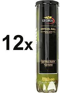 48x Wilson US Open Tennisball (48 Bälle)