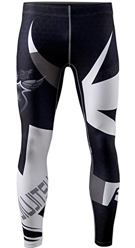 - zipravs MMA BJJ Compression Tight Pants Long Pants Running Baselayer for Unisex