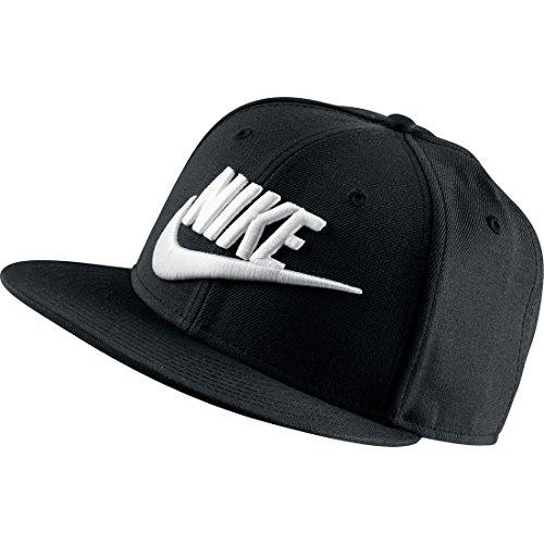 NIKE Herren Cap True Snapback, Black/White, One size, 584169-010