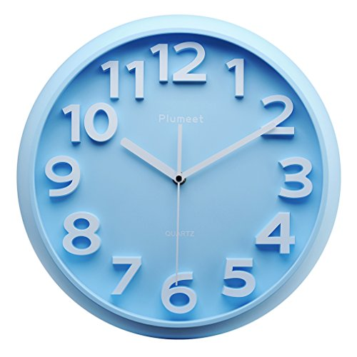 Kids Wall Clock, Plumeet 13