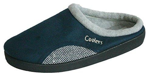 Coolers , Herren Hausschuhe Navy/Tweed