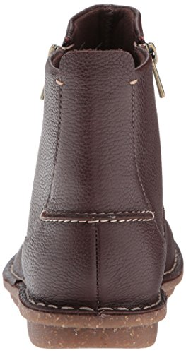 Brown Women's Leather Tamitha Dark Clarks Flower Boot wXWqTnOPd