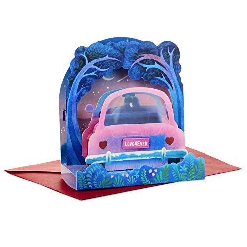 Stationery Valentine (Hallmark Paper Wonder Valentine's Day Pop Up Card for Significant Other (Car))