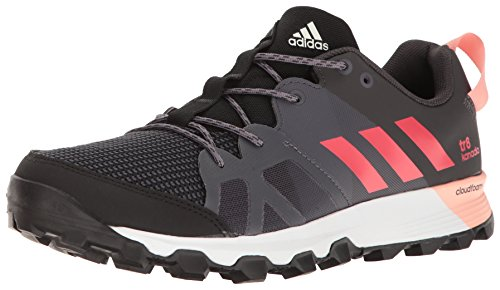 adidas Outdoor Women's Kanadia 8 TR Trail Running Shoe, Black/Core Pink/Trace Grey, 8.5 M US by adidas outdoor