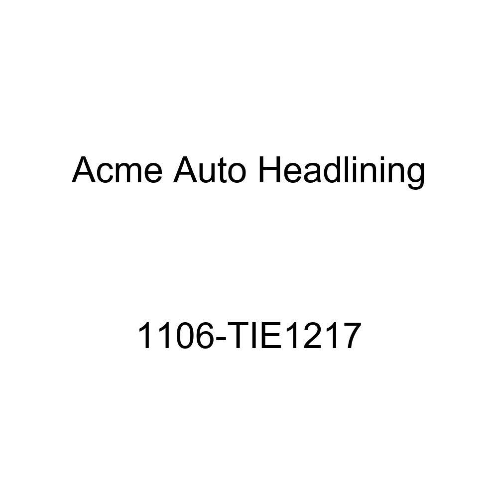 Acme Auto Headlining 1106-TIE1217 Ginger Replacement Headliner 1937-38 GM 2 Door 7 Bow Sedan and Coupes
