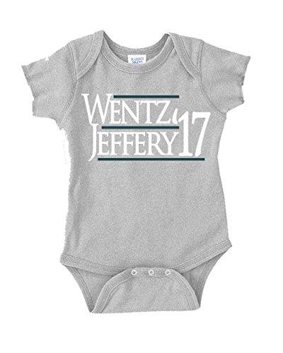 """The Silo GREY Philadelphia Wentz """"Jeffery 17"""" Baby 1 piece 6 Months"""