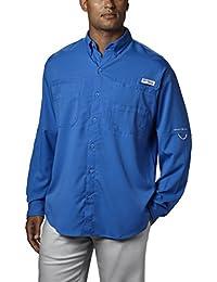 Men's PFG Tamiami II Long Sleeve Shirt, UPF 40 Sun...