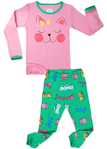 Pink 2 Piece Pajamas - 5