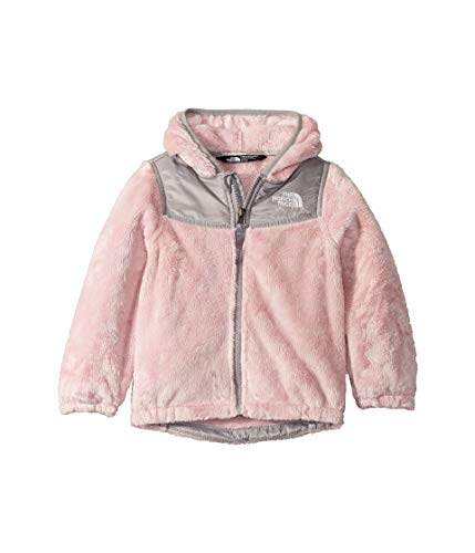 The North Face Kids Baby Girl's OSO Hoodie (Toddler) Purdy Pink/Meld Grey 5T (Hoodie North Face Girls The Oso)