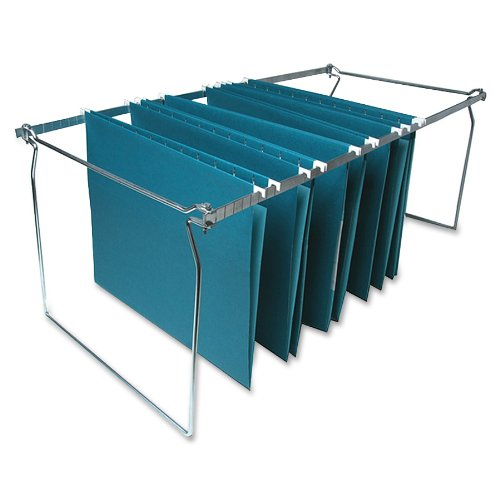 S.P. Richards Company Hanging File Folder Frames, Letter, 6 per Box, Stainless Steel ()