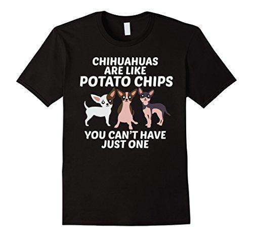 Mens Chihuahua Mom Shirt 2XL Black