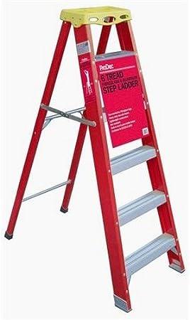 Prodec fibra de vidrio y aluminio 6 peldaños escalera: Amazon.es: Bricolaje y herramientas