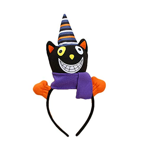 Black Cat Headband Children's Gift for Halloween Makeup Show Party Decoration ()