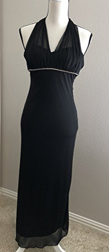 amp; Adam Long Dress Size Cocktail Black Gown Betsy 4 Womens HPdAHgq