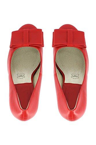Go Tendance - Zapatillas de soft tennis para mujer Rojo - rojo