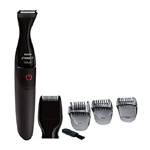 Norelco WATERPROOF CORDLESS Facial Men's Shaver and Hair Trimmer Grooming Kit, with Detail Foil Shaver, and Precision 21mm Trimmer, Three Beard Combs For All Your Facial Needs by Philips