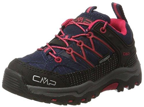 C.P.M. Rigel, Zapatos de Low Rise Senderismo Unisex Niños Azul (Black Blue)