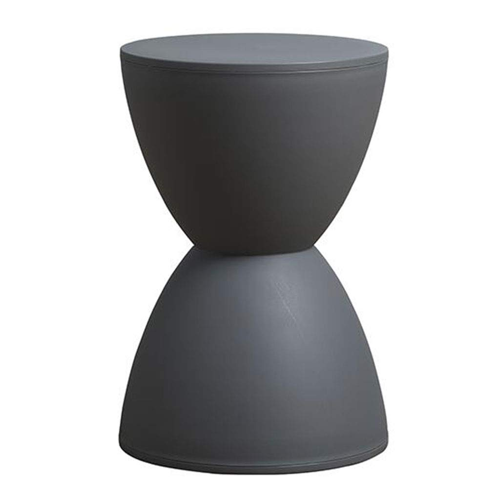 OUG Simple Stool/Fashion Stool,Plastic Material,Environmental Protection,No Smell,Round Shape,Light and Wearable,Strong Load-Bearing Capacity,Suitable for Adults,Suitable for Bedroom,30x43cm
