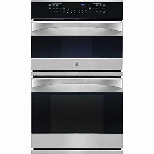 Kenmore Elite 48913 27″ Electric Wall Oven/Microwave Combination in Stainless Steel, includes delivery and hookup (Available in select cities only)