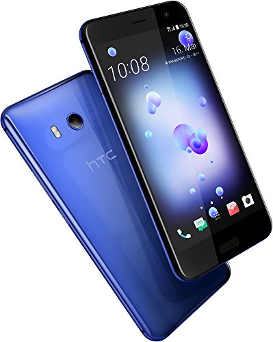 HTC U11 Dual-SIM 64GB Factory Unlocked 4G/LTE Smartphone (Sapphire Blue) - International Version