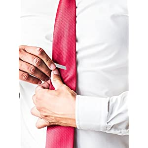 #1 Best Selling Tie Bar Clip - w/Mate Finish - EXCLUSIVE Hold Tech (TM), Premium Quality over Quantity - *FREE* Fashion Bible Bonus to 10X your style in 10 Minutes.