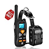 JIAHONG Dog Training Collar,Shock Training Collar for Dogs, NO Hurt and IP67 Level Waterproof with 1800FT Remote Beep/Vibration/Shock Electronic Collar Modes for Small Medium Large Dogs For Sale