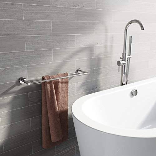 Orchard Lunar double towel rail