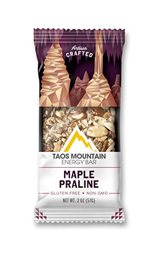 Taos Mountain Energy Bar - Maple Praline (2.0 Ounce, 6 Count)