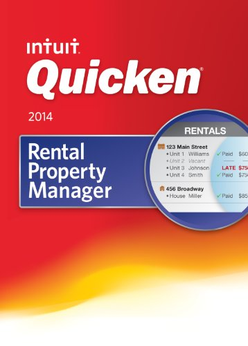Quicken Rental Property Manager VERSION