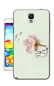 Kristyle Creative Flower TPU Phone Case for Samsung Note3