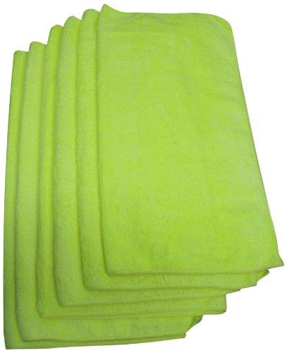 UPC 837369002761, Galaxy Products MFT6 16-Inch by 16-Inch Micro Fiber Towels, Colors May Vary, 6-Pack