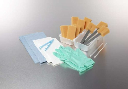 ^Dry Skin Scrub E*Kts - Dry Skin Scrub Trays - Contains: 6 small wing sponges, 3 8
