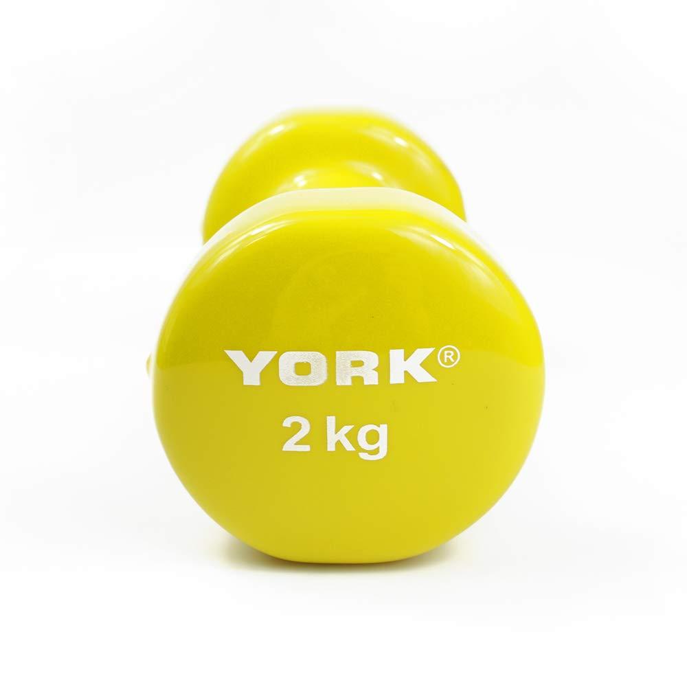 2.2lb NRS Healthcare Vinyl York Dumbbell Weight Single 1kg