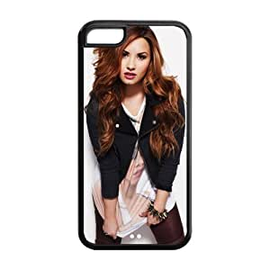 Customzie Your Own Singer Demi Lovato Back Case for iphone5C JN5C-1523