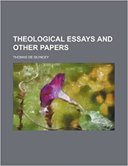Book THEOLOGICAL ESSAYS AND OTHER PAPERS